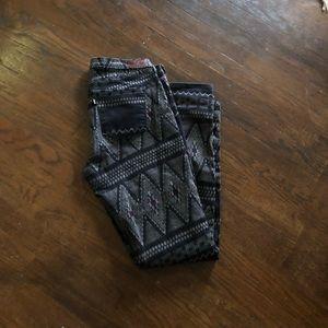 Levi's   Pattern print skinny jeans 30